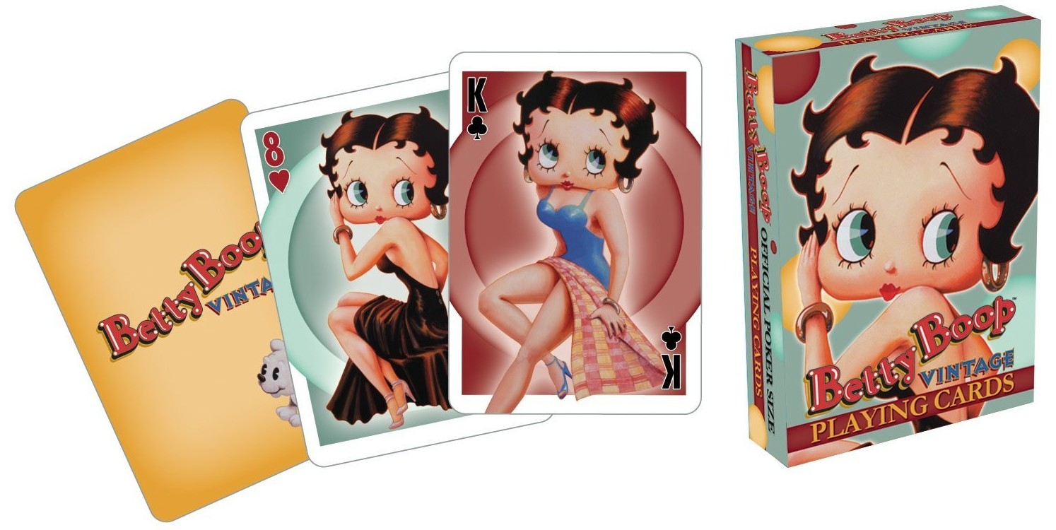 Betty Boop Vintage Spielkarten
