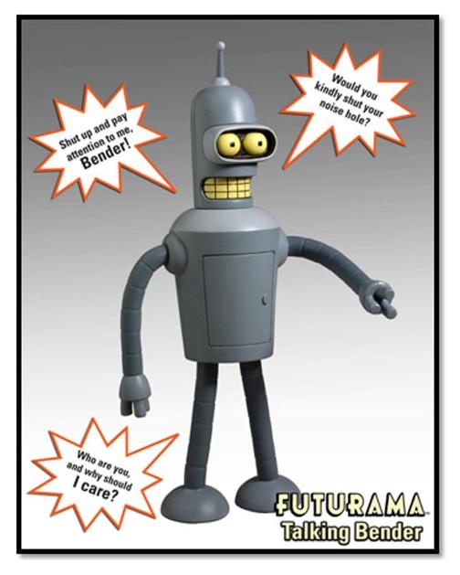 Не совсем в тему, но не смог удержаться от искушения сделать сего мерзавца и негодяя: робот-сгибальщик bender
