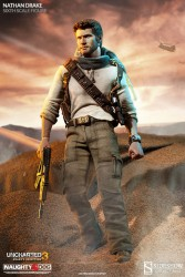 Uncharted 3 Drakes Deception Actionfigur 1/6 Nathan Drake 30 cm
