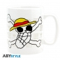 Mobile Preview: One Piece XL Tasse - Skull drawn by Luffy