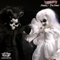 Preview: Living Dead Dolls Scary Tales Puppen Set Beauty and the Beast 25 cm