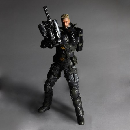 Deus Ex Play Arts Kai Vol. 1 Actionfigur Lawrence Barrett 23 cm