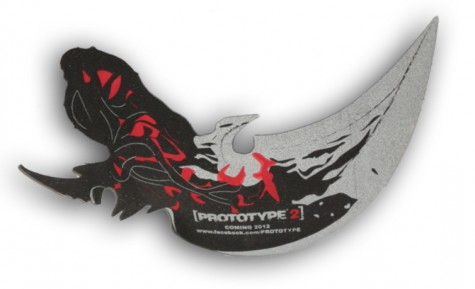 Prototype 2 Arm Blade