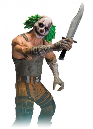 Batman Arkham City Serie 3 Actionfigur Clown Thug with Knife 16 cm