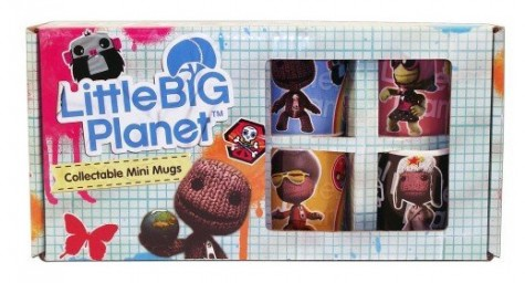 Little Big Planet Mini Tassen Box (4er Set)
