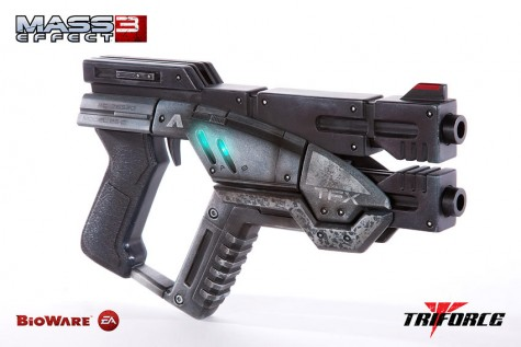 Mass Effect 3 Replik 1/1 M-3 Predator Custom Edition 30 cm