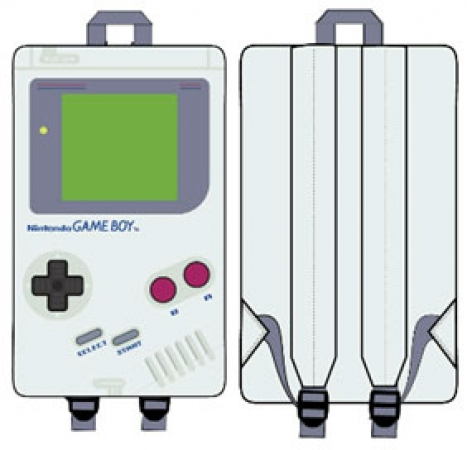 Nintendo Mini-Rucksack Gameboy Screenprint