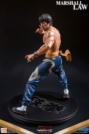 Tekken 5 Dark Resurrection Statue 1/4 Marshall Law 43 cm
