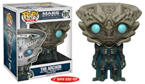Mass Effect Andromeda Super Sized POP! Games Vinyl Figur The Archon 15 cm