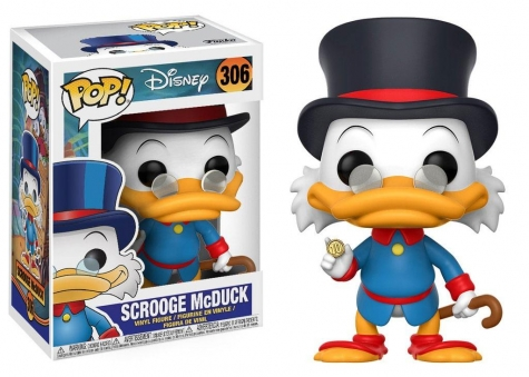 DuckTales POP! Disney Vinyl Figur Dagobert Duck 9 cm