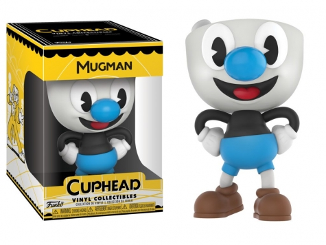 Cuphead Vinyl Collectible Figur Mugman 10 cm