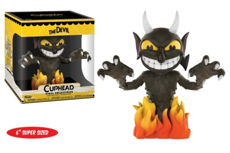 Cuphead Super Sized Vinyl Collectible Figur The Devil 15 cm