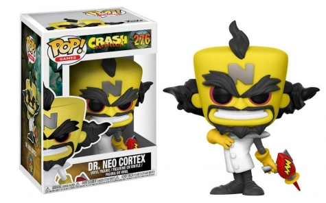 Crash Bandicoot POP! Games Vinyl Figur Neo Cortex 9 cm