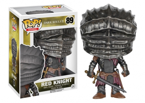Dark Souls III POP! Games Vinyl Figur Red Knight 9 cm