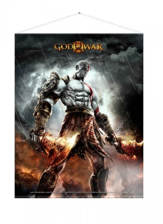 God of War Wandrolle WAR 100 x 77 cm