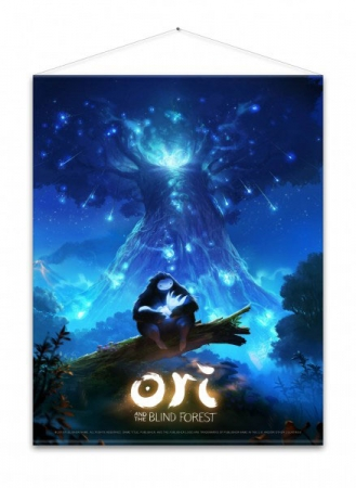Ori and the Blind Forest Wandrolle Key Art 100 x 77 cm