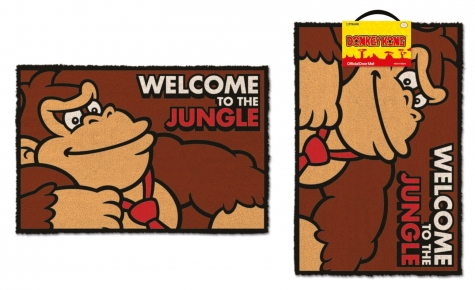 Donkey Kong Fußmatte Welcome To The Jungle 40 x 60 cm