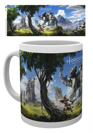 Horizon Zero Dawn Tasse Key Art