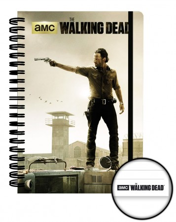 Walking Dead Notizbuch A5 Prison