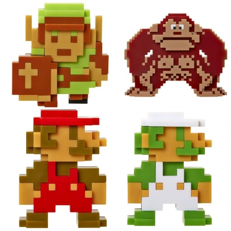 World of Nintendo Vinyl Figuren 5-er Pack 6 cm Retro 8-Bit