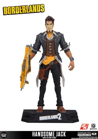 Borderlands Color Tops Actionfigur Handsome Jack 18 cm