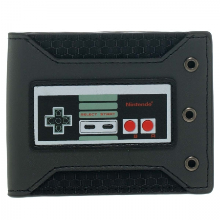 Nintendo Geldbeutel Controller Rubber Badge