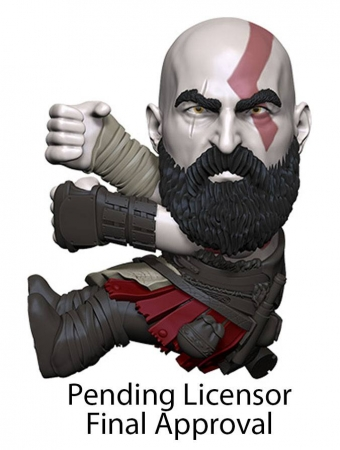 God of War 2018 Scalers Figur Kratos 5 cm