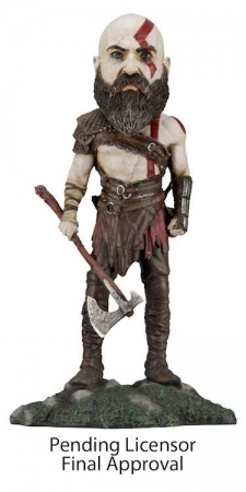 God of War 2018 Head Knocker Wackelkopf-Figur Kratos 22 cm