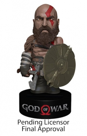 God of War 2018 Body Knocker Wackelfigur Kratos 16 cm