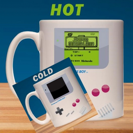 Nintendo Game Boy Tasse mit Thermoeffekt Super Mario Land