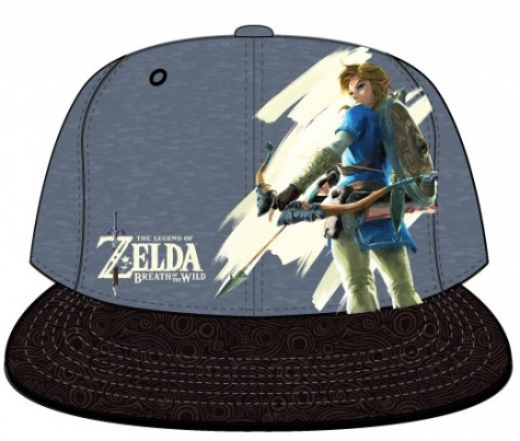 The Legend of Zelda Breath of the Wild Snap Back Cap Link
