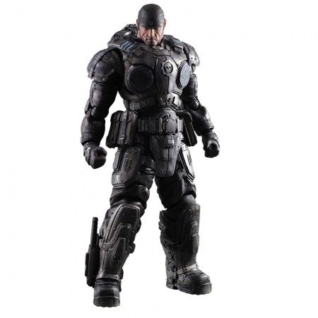 Gears of War Play Arts Kai Actionfigur Marcus Fenix 27 cm