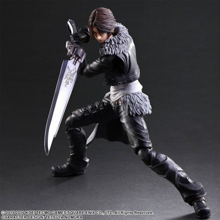 Dissidia Final Fantasy Play Arts Kai Actionfigur Squall Leonheart 23 cm