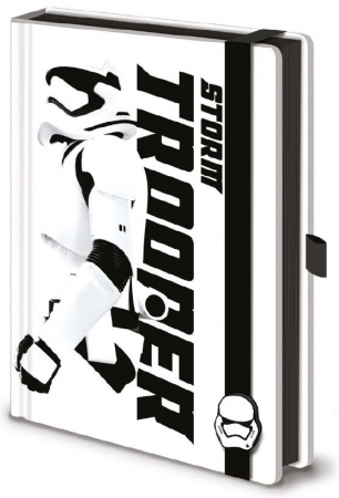 Star Wars Episode VII Premium Notizbuch A5 Stormtrooper