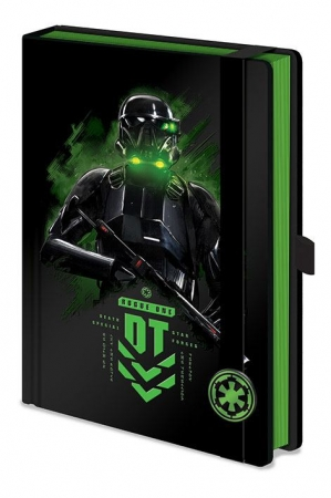 Star Wars Rogue One Premium Notizbuch A5 Death Trooper