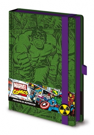 Marvel Comics Premium Notizbuch A5 Retro Hulk