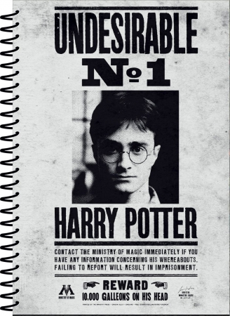 Harry Potter Notizbuch A5 Undesirable No 1