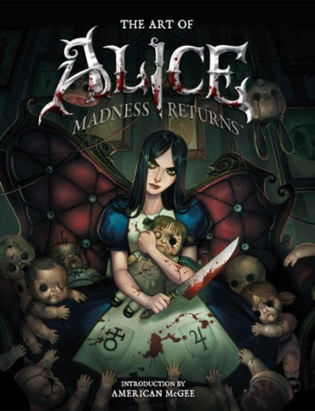 Alice Madness Returns Artbook The Art of Alice Madness returns