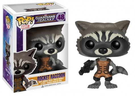 Guardians of the Galaxy POP! Vinyl Wackelkopf-Figur Rocket Raccoon 10 cm