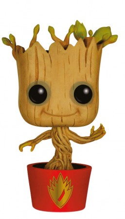 Guardians of the Galaxy POP! Vinyl Wackelkopf-Figur Ravagers Dancing Groot 10 cm