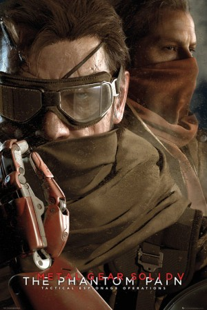 Metal Gear Solid 5 Poster Goggles 61 x 91 cm