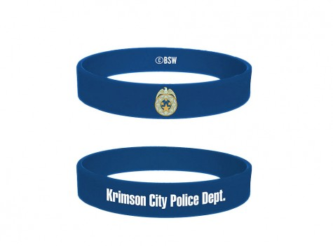 The Evil Within Gummi Armband Krimson City Police Dept.