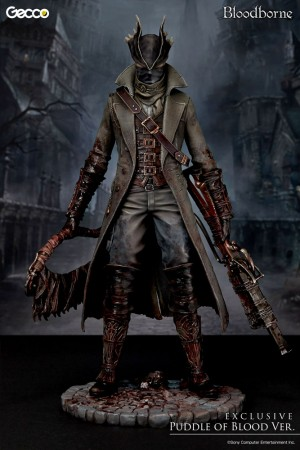 Bloodborne Statue 1/6 Hunter Puddle of Blood 32 cm