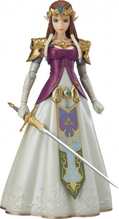 The Legend of Zelda Twilight Princess Figma Actionfigur Zelda 14 cm