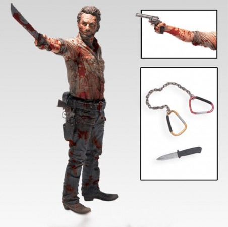 The Walking Dead Deluxe Actionfigur Rick Grimes Vigilante Edition 25 cm