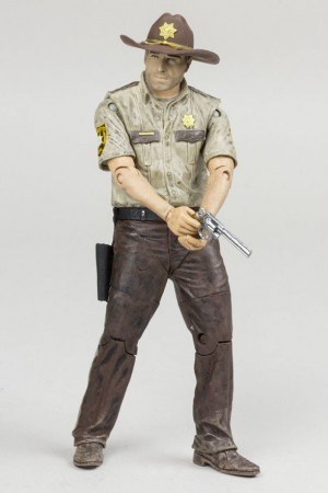 The Walking Dead TV Version Actionfigur Rick Grimes 13 cm Serie 7