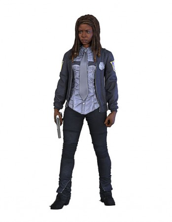 The Walking Dead TV Version Actionfigur Serie 9 Constable Michonne 15 cm