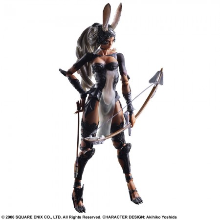 Final Fantasy XII Play Arts Kai Actionfigur Fran 31 cm