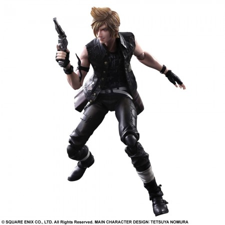 Final Fantasy XV Play Arts Kai Actionfigur Prompto 28 cm