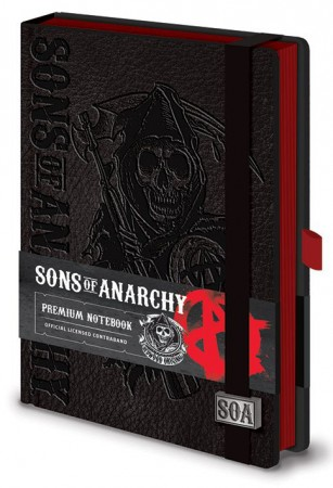 Sons Of Anarchy Premium Notizbuch A5 Reaper